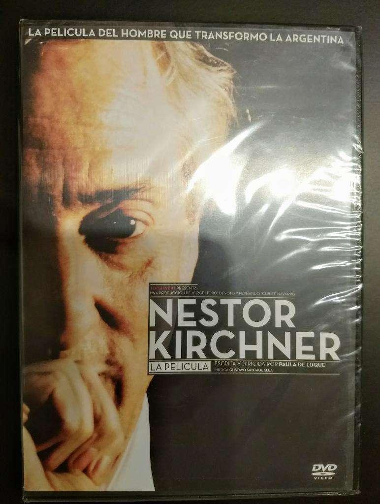 """DVD """"Néstor Kirchner: la Película"""". Nuevo 0"""