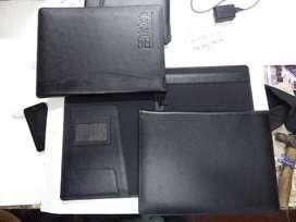 cartapacio carpeta tambien: agendas,billeteras,porta notas ,porta diplomas y mas productos en bio cuero
