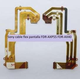 CABLE FLEXIBLE PARA FILMADORAS SONY FDR-AXP55 AXP55 FDR-AX40