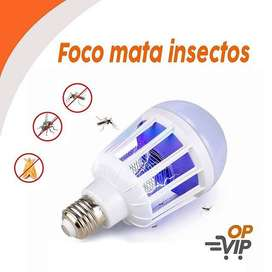FOCO LED MATA MOSQUITOS 15 W.