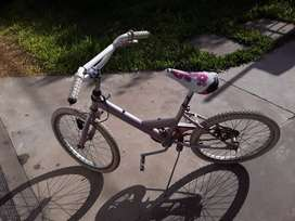 Bicicleta muy linda