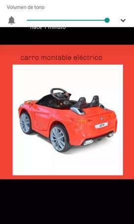 Carro montable eléctrico