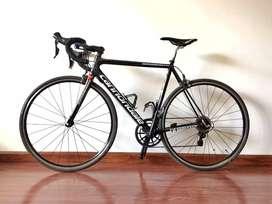 Bici de Ruta Cannondale Super Six Evo Original en Carbono Talla M