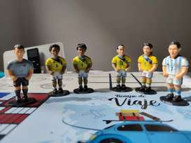 Selección Colombia figuras coleccionables bien cuidadas