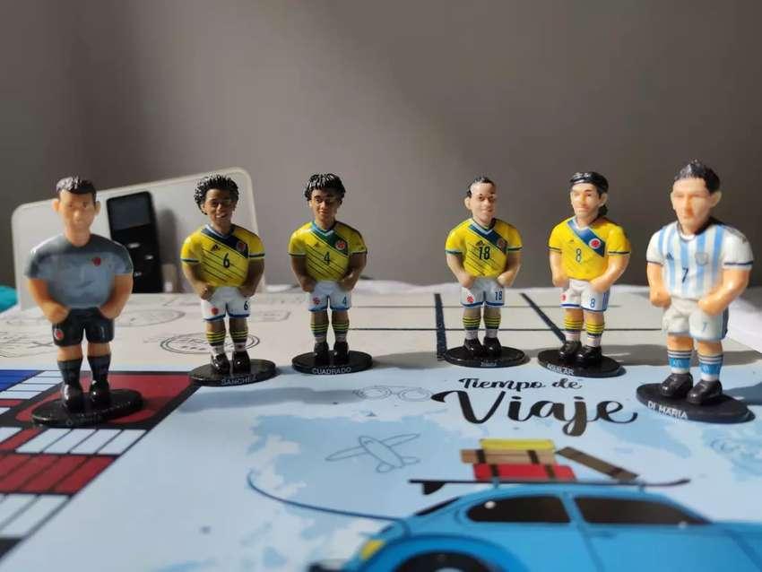 Selección Colombia figuras coleccionables bien cuidadas 0