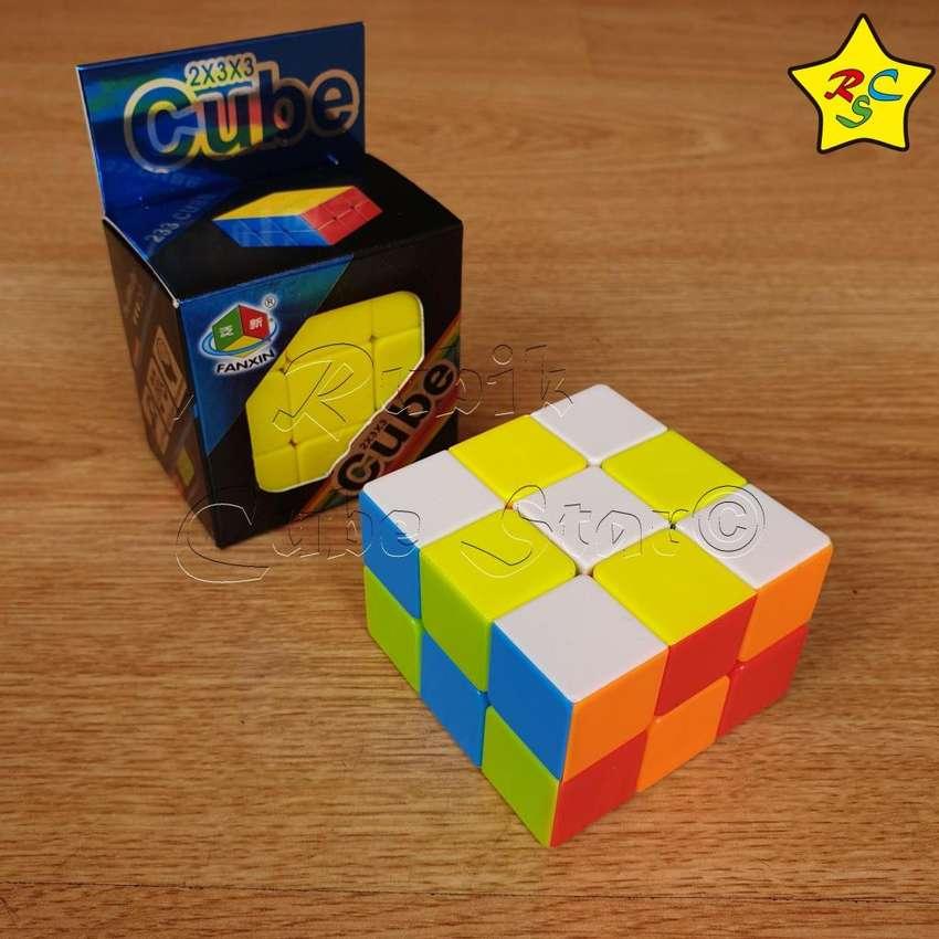 Cubo Rubik 3x3x2 Fanxin Stickerless 2 Niveles Cuboide 2x3x3 0