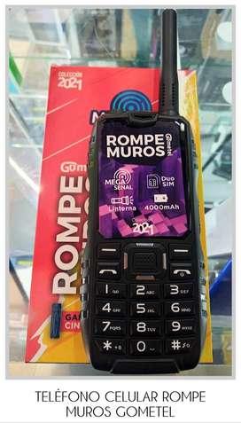 TELÉFONO CELULAR ROMPE MUROS GOMETEL