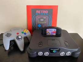 Nintendo 64 flamante