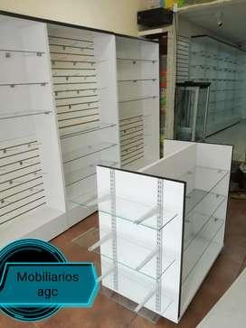 Vitrinas, estantería y muebles para farmacias,ópticas joyerías y más
