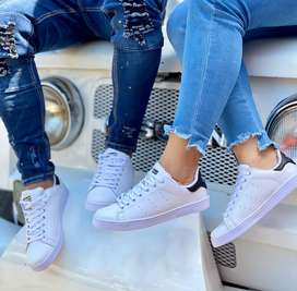 Zapato cosido Adidas stan Smith
