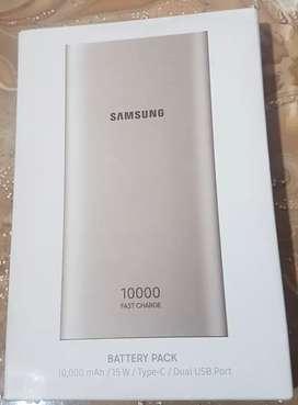 Power Bank Samsung Original 10000 mAh Fast Charge (Carga Rápida)