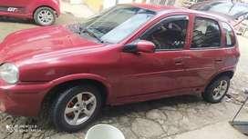 Vendo carro Corsa Chevrolet 1400 en exelente estado con llantas nuevas batería nueva planta de sonido