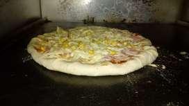 Pizza borde queso (genio de la salchipizza)