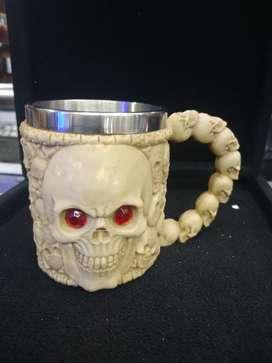 Mugs resina aluminio