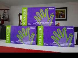 Vendo guantes de Latex