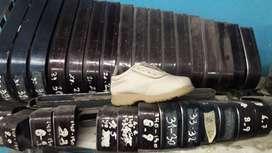 Sacabocados para la fabricación de calzado. Diferentes numeraciones.
