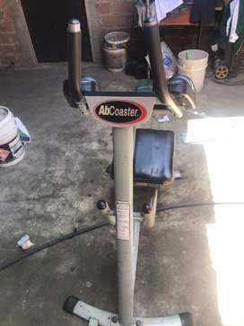 Maquina eliptica y ab coaster