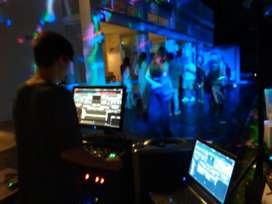 Discjockey, Sonido, Iluminación, Pantalla gigante, Vídeos, Filmaciones