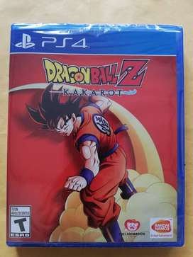 DRAGON BALL Z KAKAROT PS4 LATINO