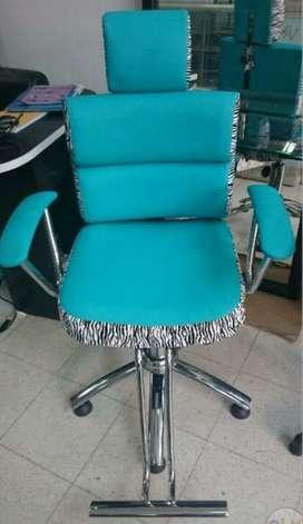 fabrica de sillas de corte, lavacabezas, camillas, tocadores, auxiliares, spa. para peluquería, barberia y spa.