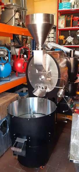 Tostadora para café de 12 kilogramos