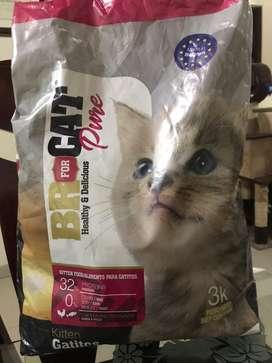 Comida para gato Br gatito 16 kilos