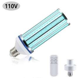 Lámpara UV-C. Mata 99.9% de bacterias, virus y hongos. Desinfección completa. Control remoto temporizador 30 y 60 min.