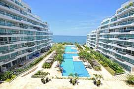 Arriendo mensual apto amoblado Playa Dormida Bello Horizonte Santa Marta