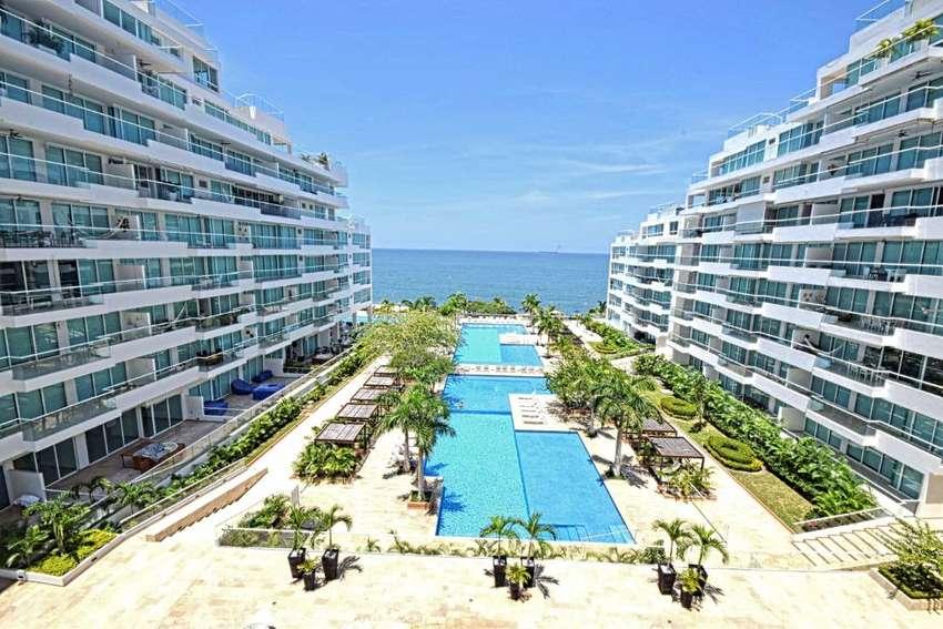 Arriendo mensual apto amoblado Playa Dormida Bello Horizonte Santa Marta 0
