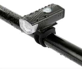 Linterna Led Recargable 3 modos para Bicicleta USB MTB RUTA Multipropósito
