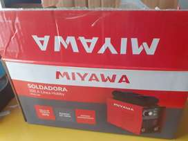 Soldadora Inverter Miyawa + Mascara