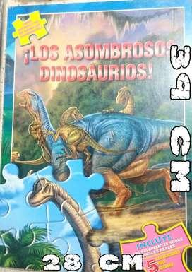 LOS ASOMBROSOS DINOSAURIOS (ROMPECABEZAS GRANDE) 2006