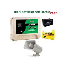 Kit Cerco Electrico Hagroy Hr8000 Plus 10.000 Metros Con Smd
