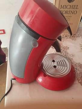 Cafetera senseo philips roja