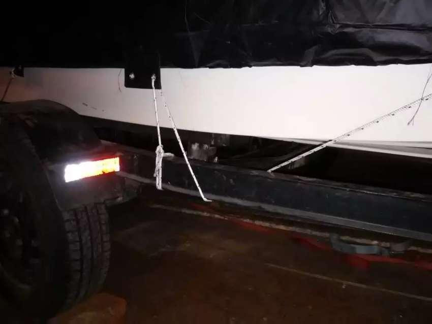 Vendo o Permuto Virgin marine 4.30 , Evinrude 35 hp y trailer 0