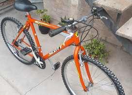 Bicicleta rod 26 18 cambios