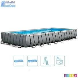 piscina estructural marca intex