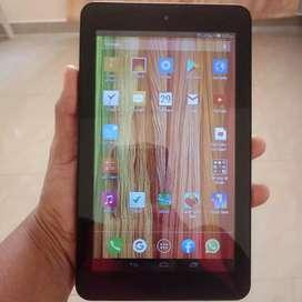 Tablet Celular con chip Alcatel One touch Pop7