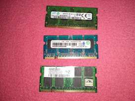 Ram pc2 para portátil 1gb economicas