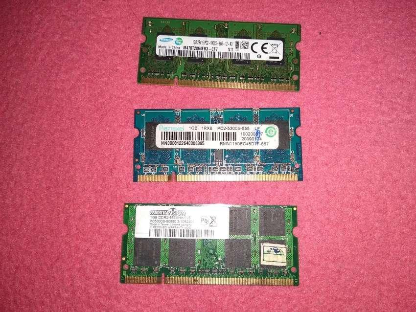 Ram pc2 para portátil 1gb economicas