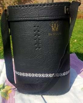 Bolso matero color negro