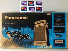 MINICOMPONENTE PANASONIC CMAX4 DE 250W BLUETOOTH USB RADIO IMPORTADOR DIMA