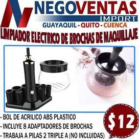 LIMPIADOR ELECTRICO DE BROCHAS PARA MAQUILLAJES