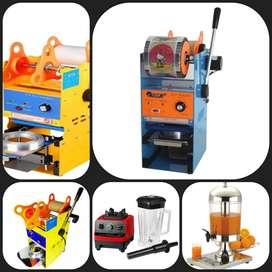 Selladoras de vasos manual, Licuadoras y Dispensadores