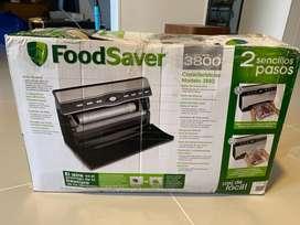 Sellador termico de comidas + caja de bolsas de sellado termico
