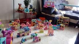 Vendo espectacular coleccion de casas y carros lps, tambien los vendo por separado, algunos con accesorios
