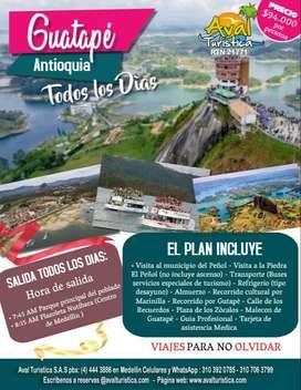 Tour a Guatape SALIDAS TODOS LOS DIAS DESDE MEDELLIN