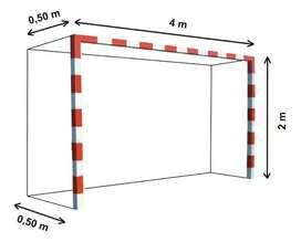 Mallas para arcos de fútbol (4x2)