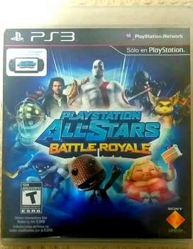 PlayStation All-Stars Battle Royale (juego físico original)  PS3