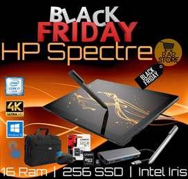 Laptop Hp Spectre 2 en 1 Core i7 pantalla 4K + Obsequios